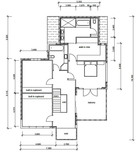 House plans and design architectural plans of residential for Residential blueprints