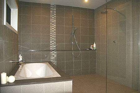 Portfolio van bergen designs for Small ensuite bathroom renovation ideas